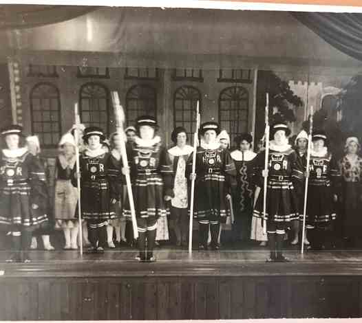 Yeoman of the Guard - a Gilbert and Sullivan School Production - 1938