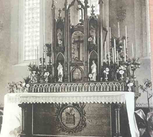 The Chapel Altar - early 1900s
