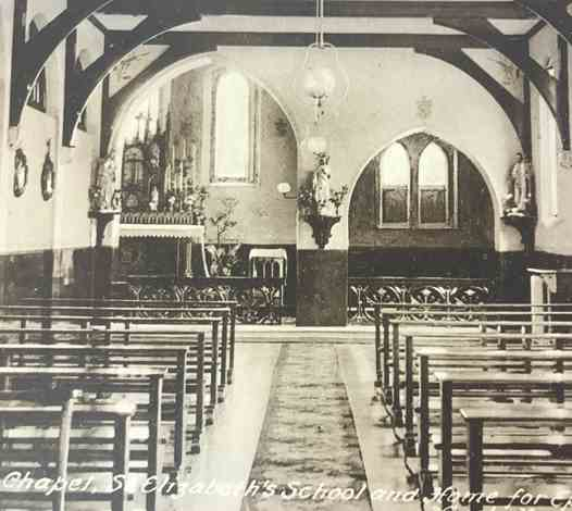 The Sisters' and Children's Chapel - 1920s