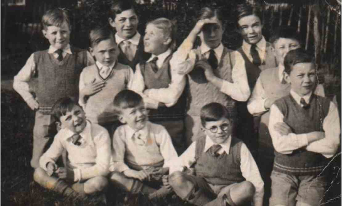 Boy students at the School - 1940s