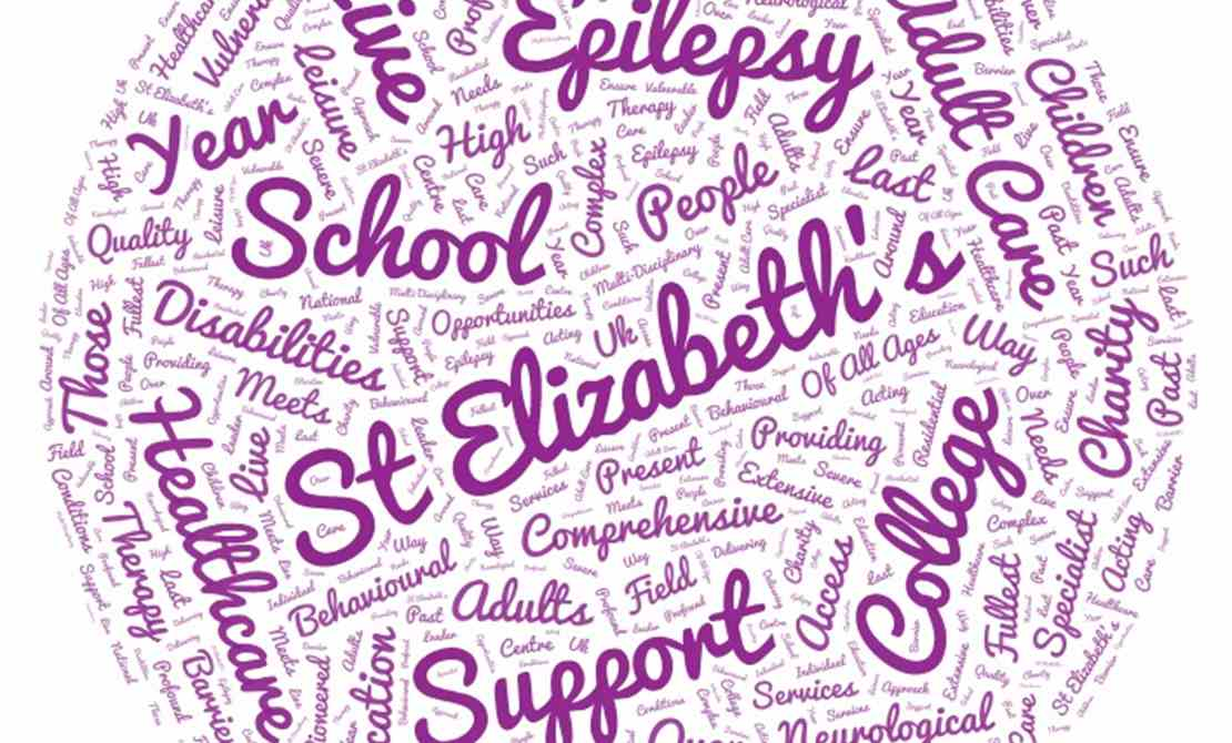 St Elizabeth's Word Cloud