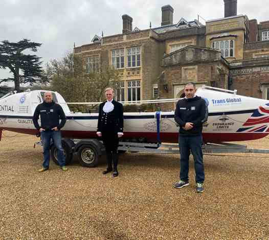 Endurance Limits Meeting The High Sheriff Of Hertfordshire